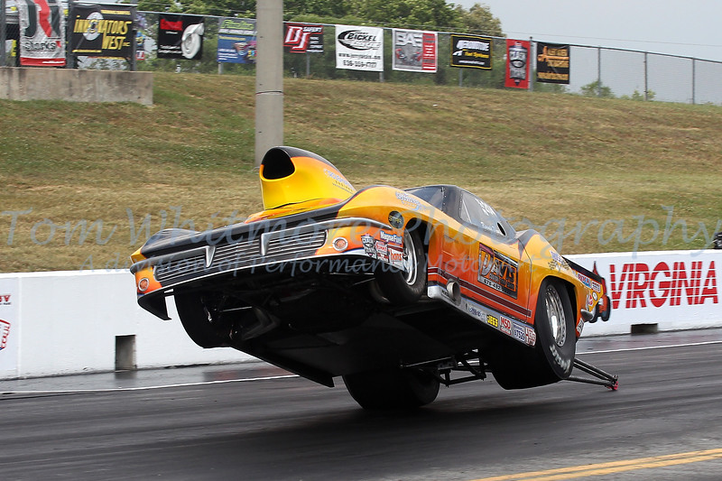 Ronnie Davis lift off at Virginia Motorsports Park.