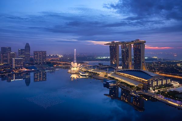 Singapore Twilight
