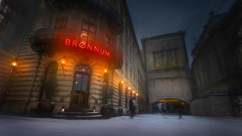 Home from Brønnum's
