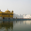 The famous Golden Temple @ Amritsar