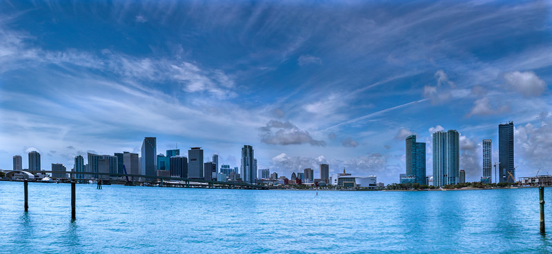 Glorious Miami Cityscape