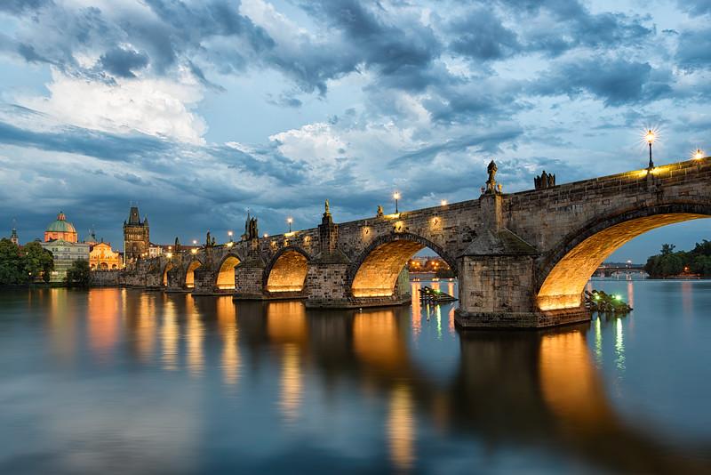 Bohemian Sky    Prague Czech Republic