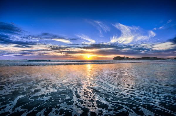 Castle Point At Sunrise    New Zealand
