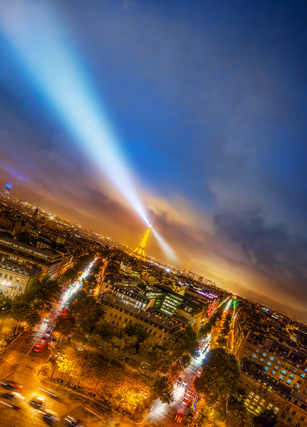 The Ever Searching Eiffel Tower