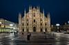 Central Piazza in Milano