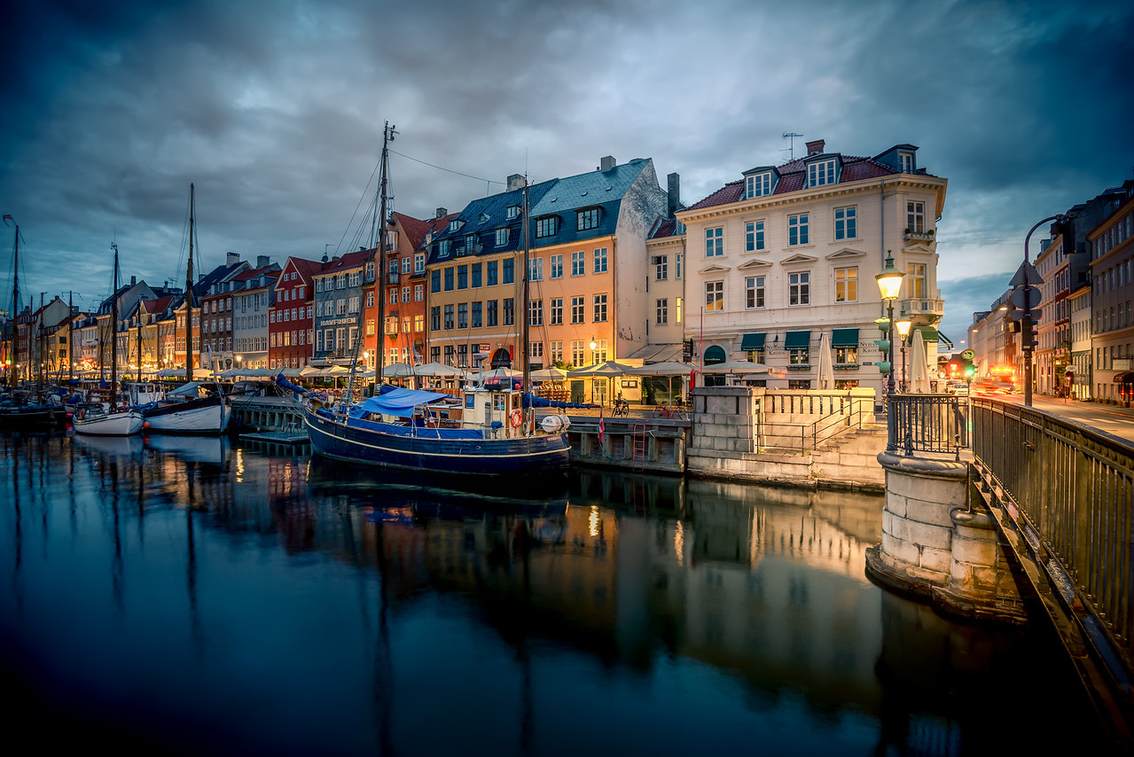 Old Nyhavn in Copenhagen