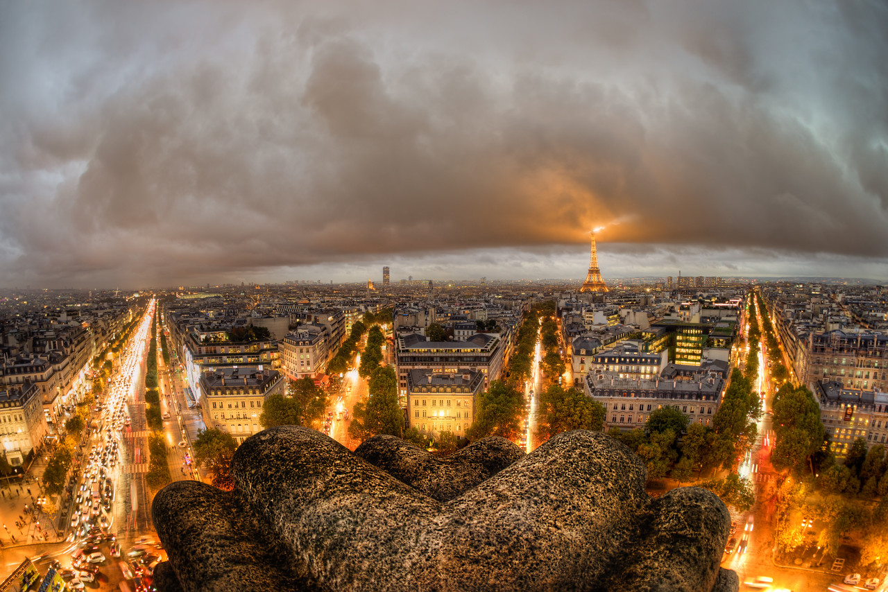 Bad Weather in Paris