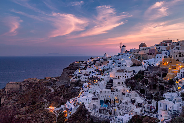 Colors of Santorini || Oia, Greece