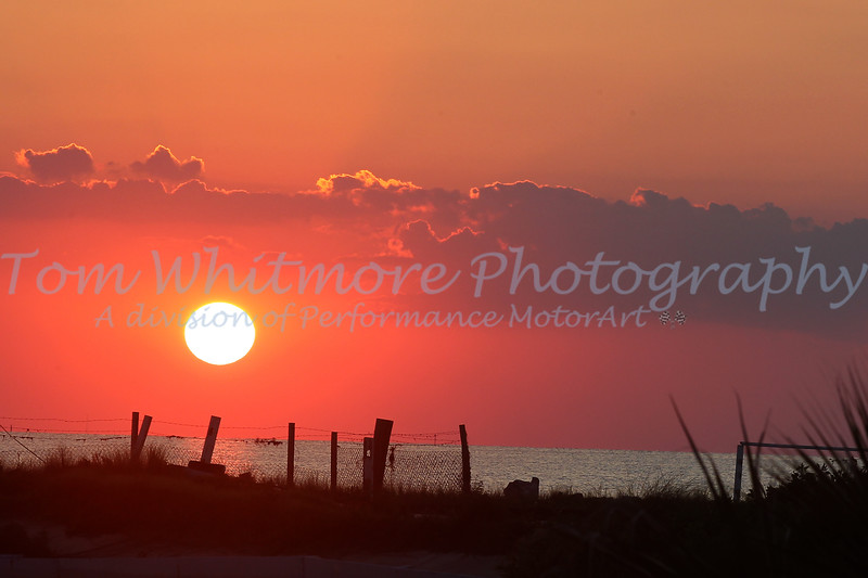 Sunset at Rodanthe NC