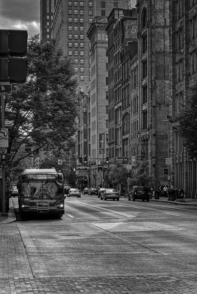 Bus On Liberty
