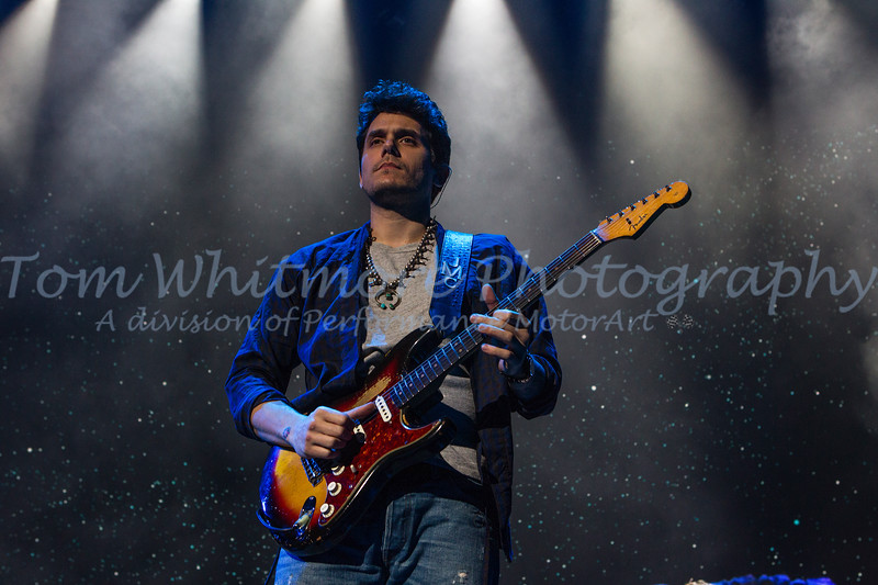 John Mayer at the Richmond Coliseum.