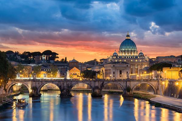 Roman Radiance    Rome Italy