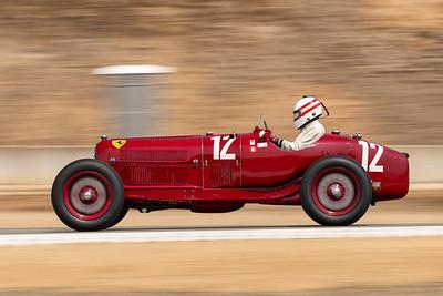 1934 Alfa Romeo Tipo B piloted by Erickson Shirley