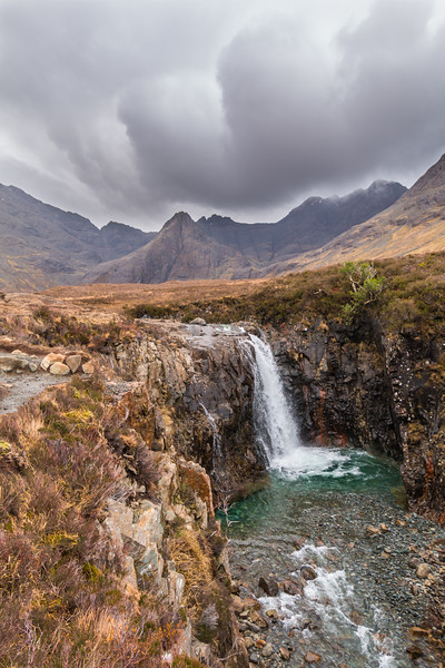 The Fairy Pools of the Isle of Skye