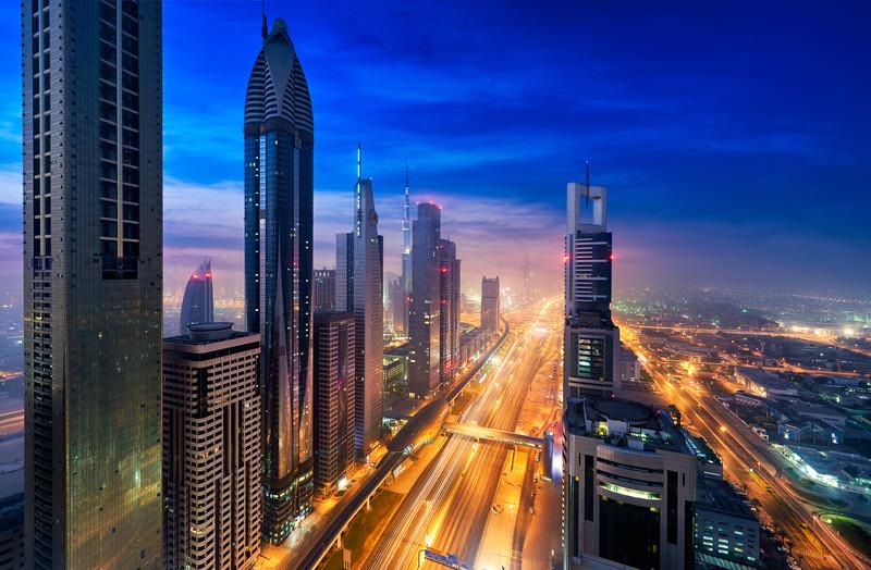 Urban Atmosphere    Dubai