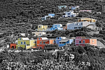Colored Houses | Ponza Island, Italy