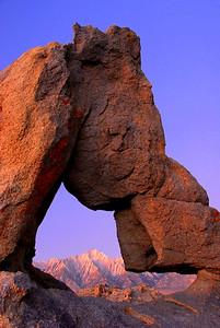 Lone Pine Peak Thru Boot Arch