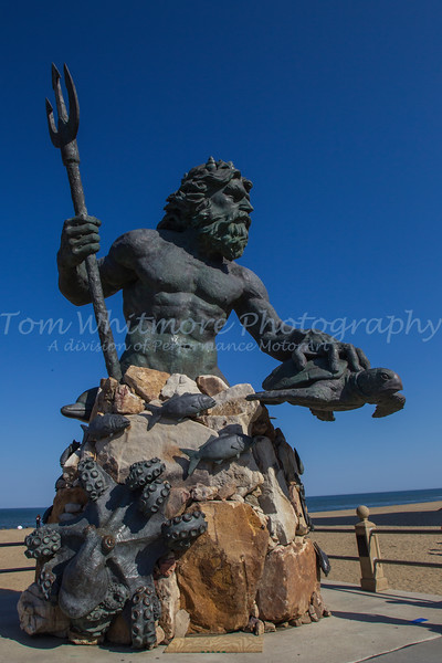 King Neptune at Virginia Beach, VA.