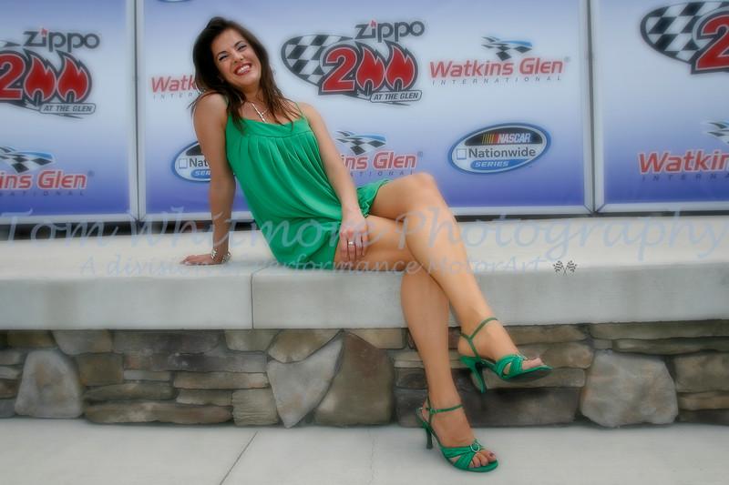 Amy Rivard at the Glen.