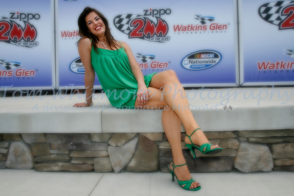Amy Rivard at the Glen.