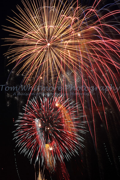 """""""Fireworks over the James"""""""