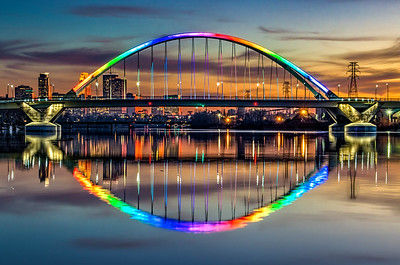 Rainbow Lowry Avenue Bridge