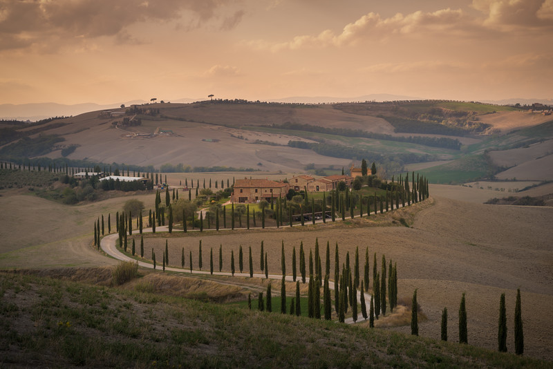 The Long and Winding Road in Tuscany