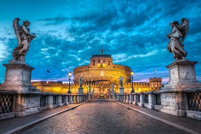 Path Of Angels || Rome Italy