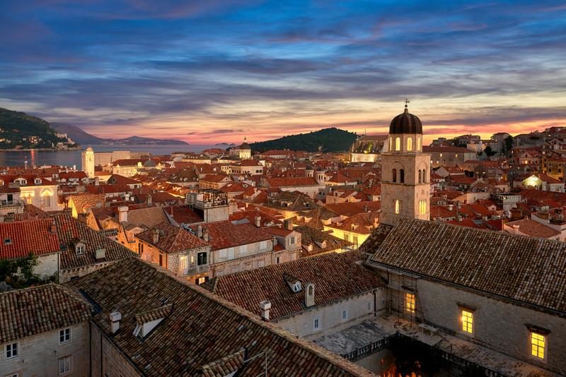 The Walled City    Dubrovnik Croatia