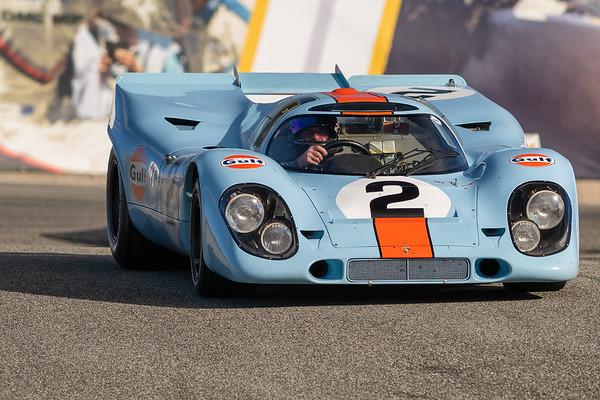 1969 Porsche 917K driven by Bruce Canepa