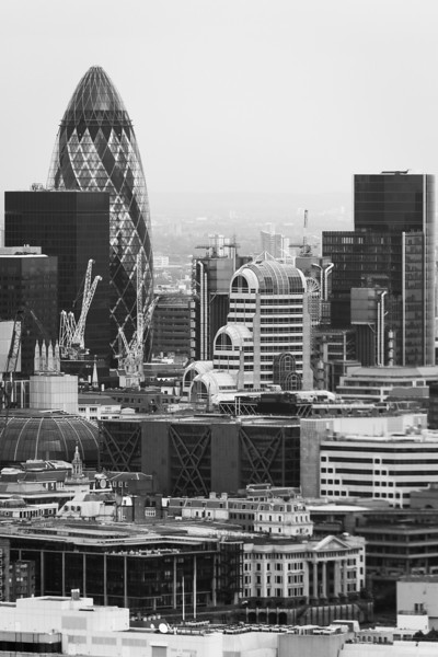 City of London Black and White