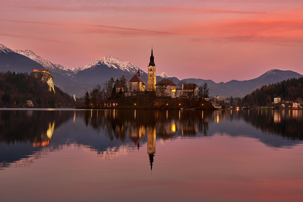 Reflections of Bled    Slovenia