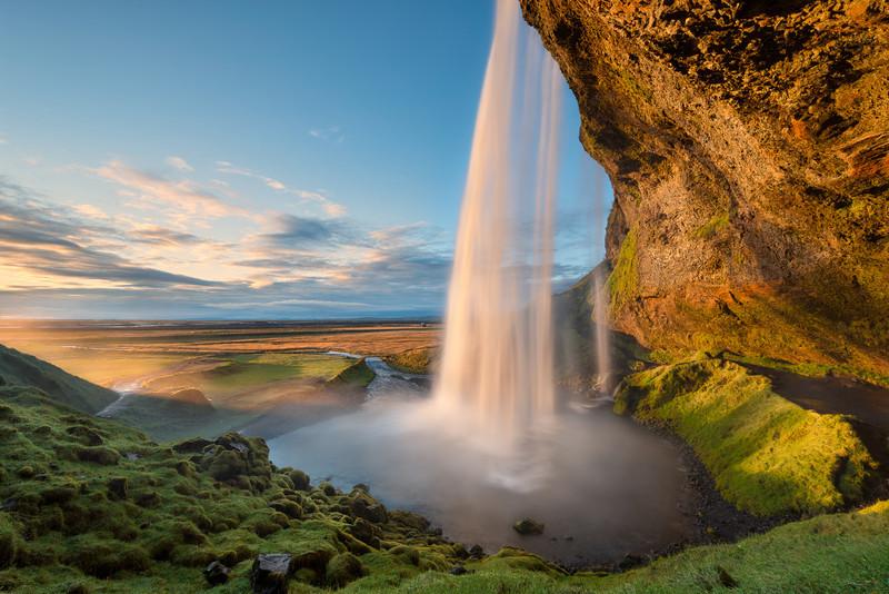 Radiant Flow    Seljalandsfoss Iceland