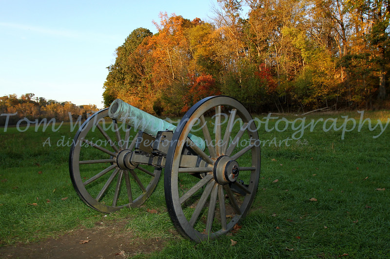 Canon at Antietam National Battlefield