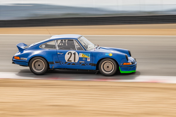1973 Porsche 911 RSR driven by Jim Bouzaglou