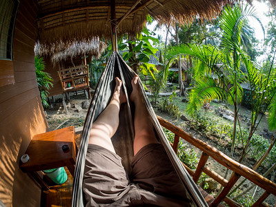 In the Hammock, Koh Chang Lonely Beach