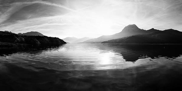 Lac de Serre Ponçon, France
