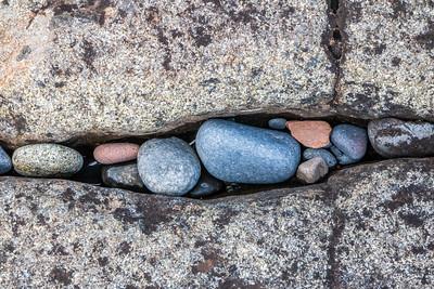 stuck rocks