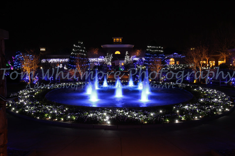 Lewis Ginter Botanical Gardens at Christmas