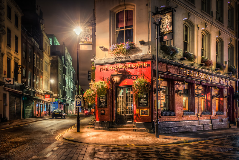 Glassblower Pub London