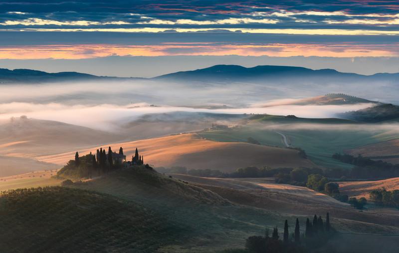Misty Melody    Tuscany Italy
