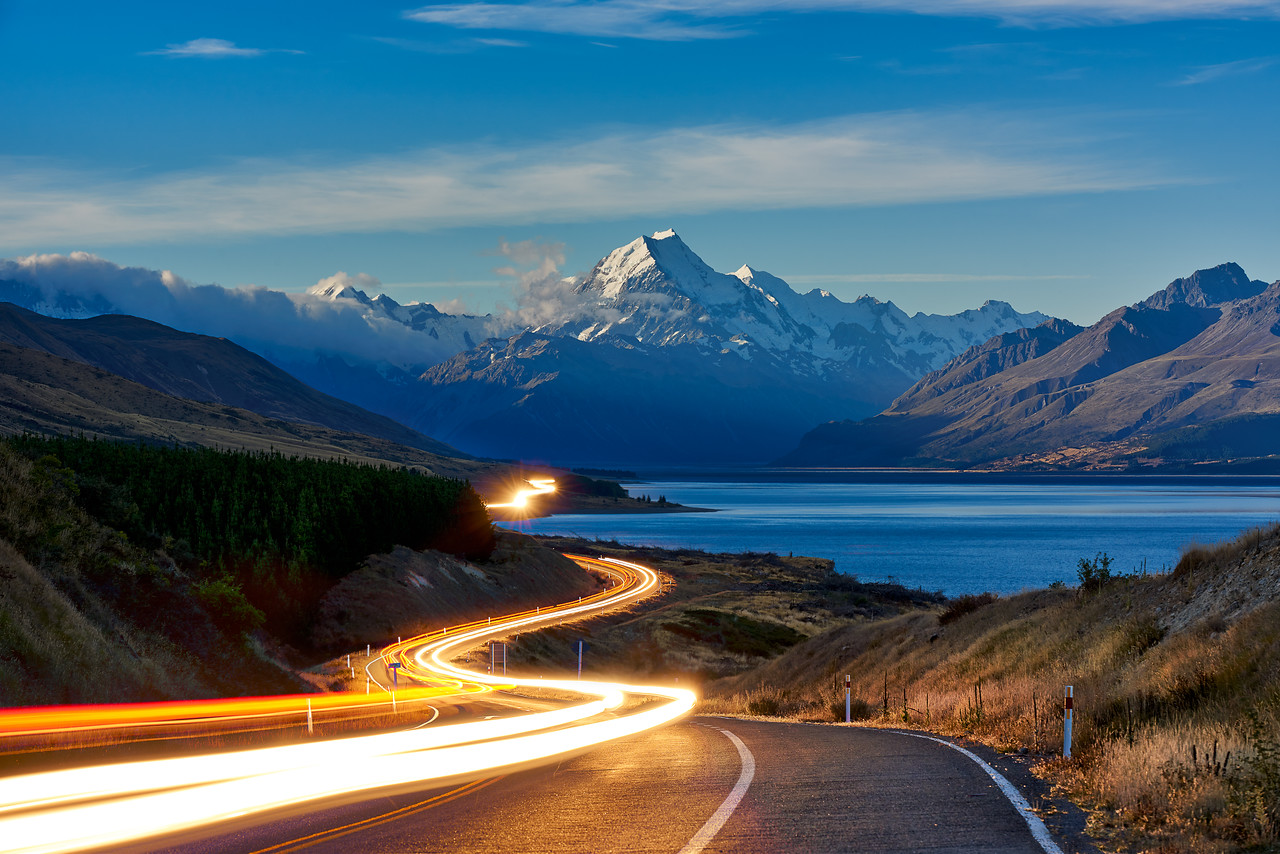 The Road to Mt. Cook || New Zealand