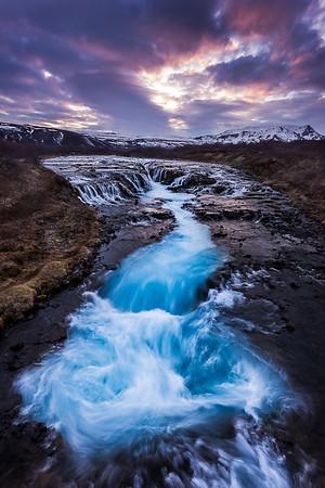 Bruarfoss II Iceland