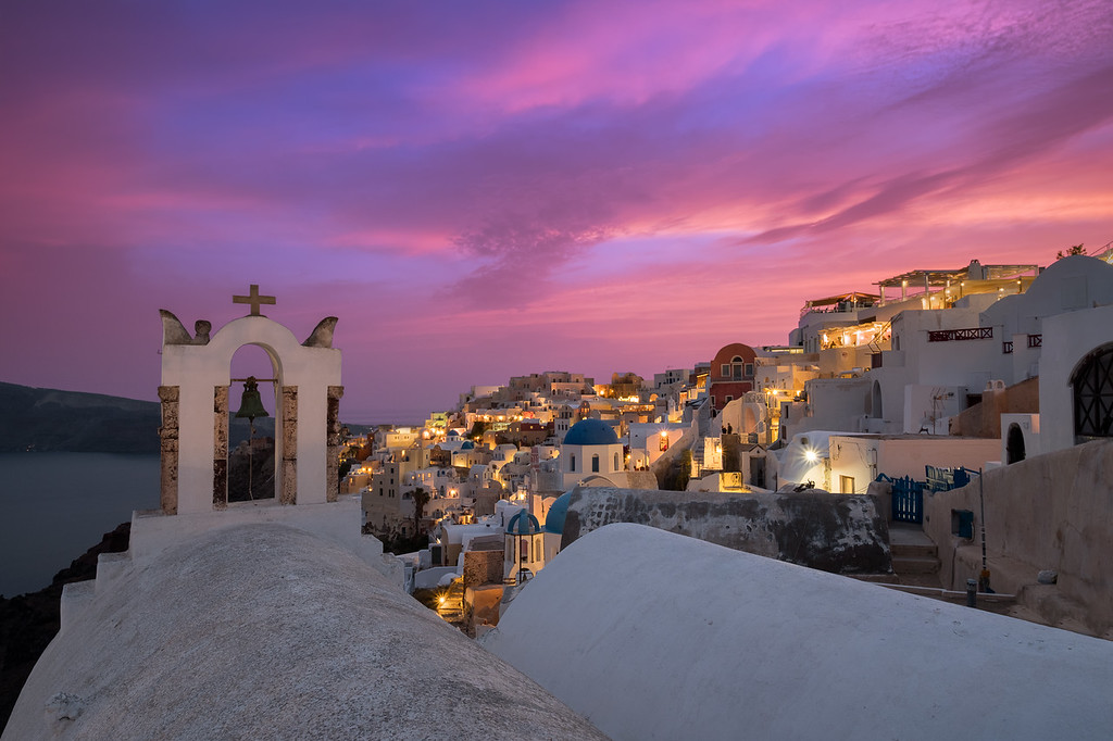 Melody of the Cyclades    Santorini Greece