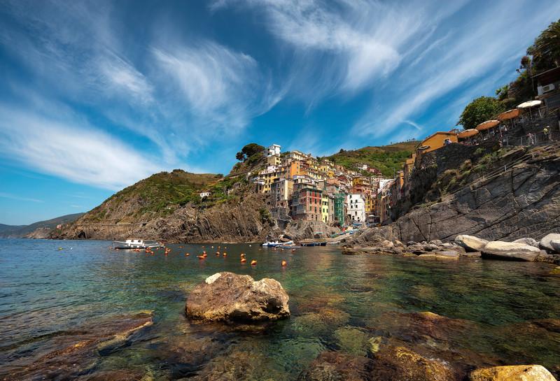 Summer On the Rocks    Riomaggiore Italy