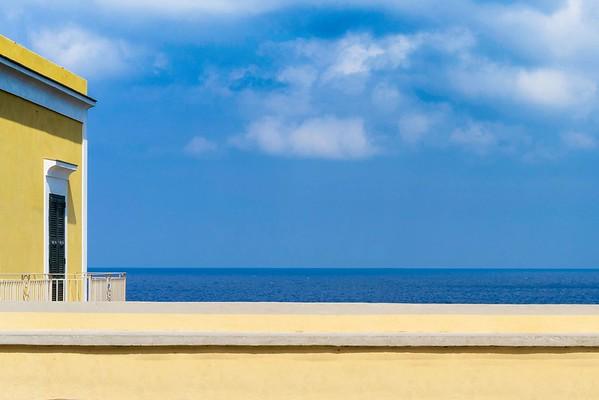 A Windows Over The Sea | Ventotene