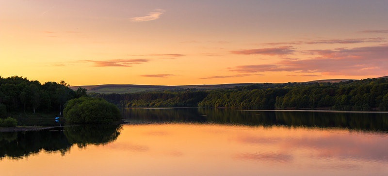 Anglezark Sunset Rivington UK