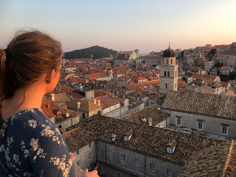 Dubrovnik, View from the city wall