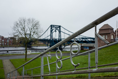 Kaiser Wilhelm Bridge in Wilhelmshaven