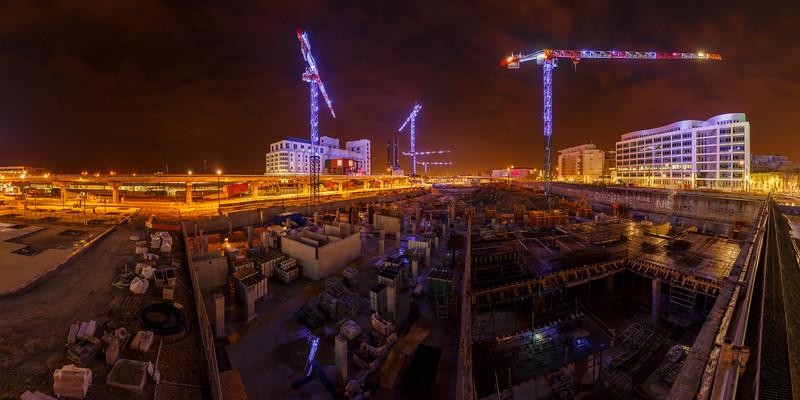 Quartier en transformation, Marseille, France